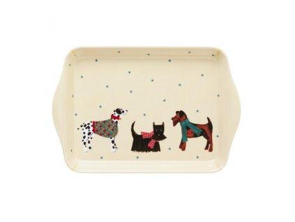 Melanínový tácek 20,8 cm x 14,10 cm Hound Dog