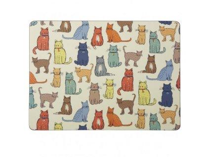 Korkové prestieranie Cat Walk