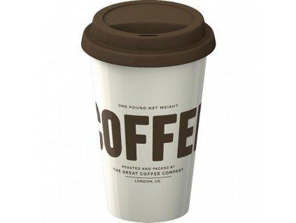 Creative Tops Cestovný hrnček porcelánový Coffee, 290ml