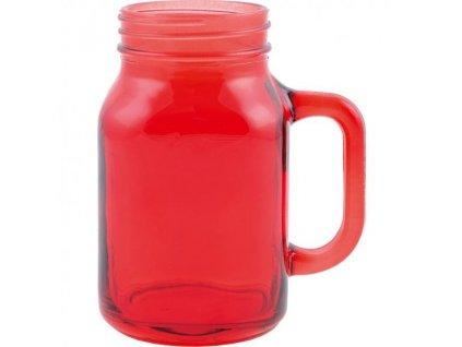 Creative Tops Sklenený džbán - červený