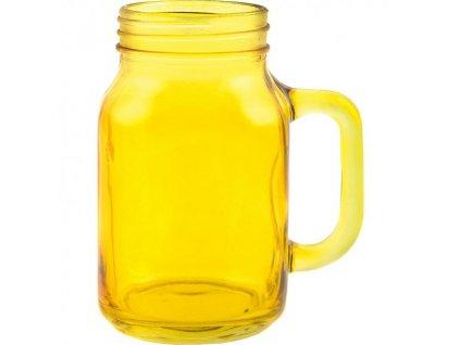 Creative Tops Sklenený džbán - žltý