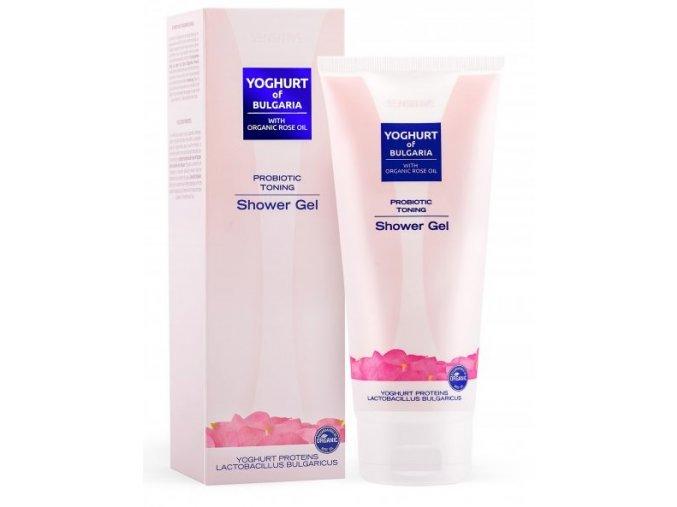 BIO Fresh Cosmetic Probiotický tonizujúci sprchový gél  s ružovým olejom, 230ml
