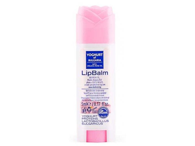 BIO Fresh Cosmetic Probiotický balzam na pery s ružovým olejom, 5ml