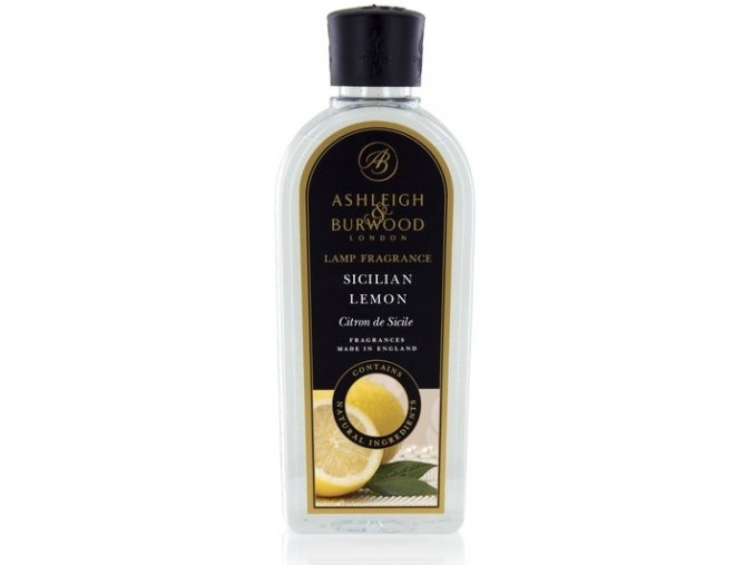Ashleigh & Burwood Náplň do katalytickej lampy SICILIAN LEMON ( Sicílsky citrón), 1000 ml