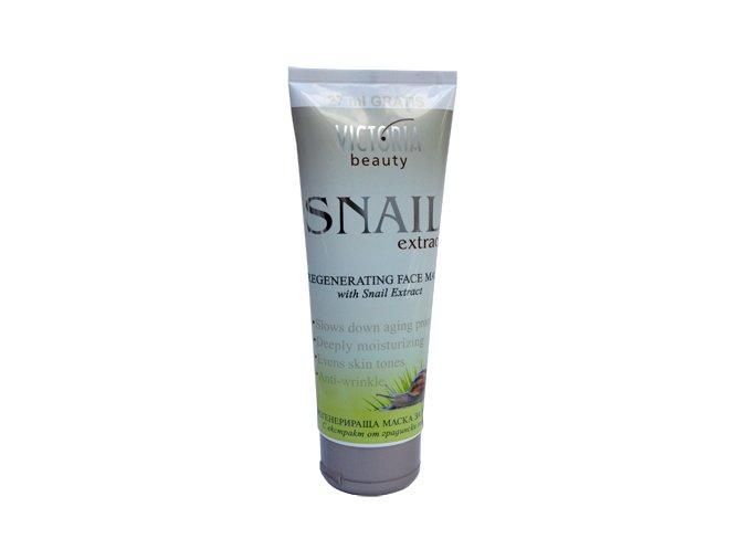Victoria Beauty Snail Extract regeneračná pleťová maska s extraktom zo slimáka, 177ml+27ml zadarmo