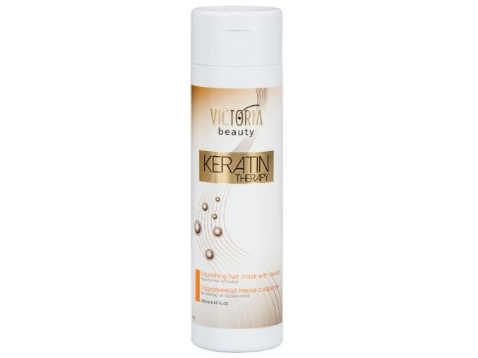 Victoria Beauty KERATIN Therapy  maska na vlasy, 250ml