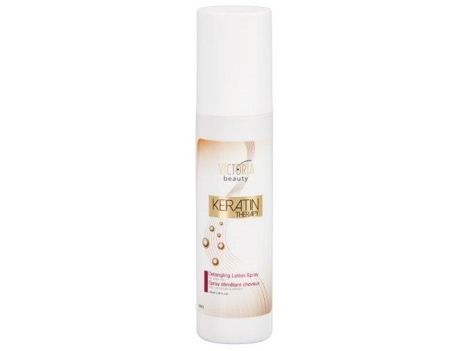 Victoria Beauty KERATIN Therapy  Vlasový sprej preľahké rozčesávanie, 150ml