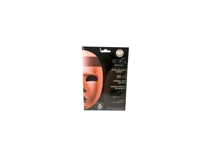 maska s vínem