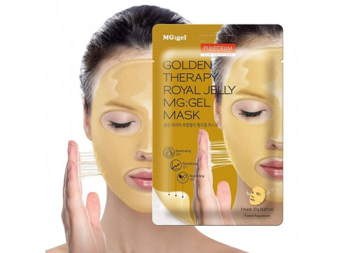 zlatá maska purederm ok