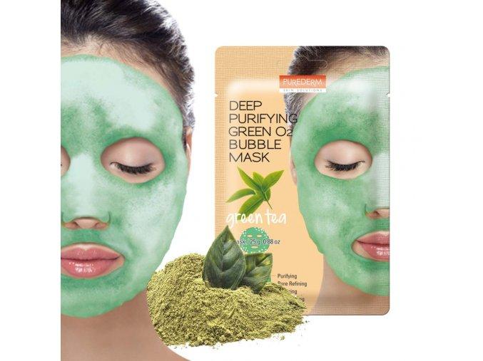 zelená maska
