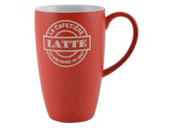Creative Tops Porcelanová šálka na kavu - Latté červená
