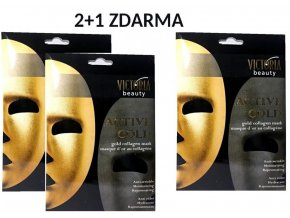 zlatá maska 2 + 1 ok