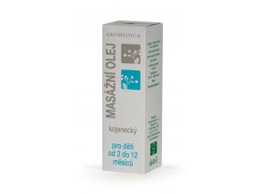 AROMEDICA -  masážný olej kojenecký pre deti od 2 do 12 mesiacov 50 ml