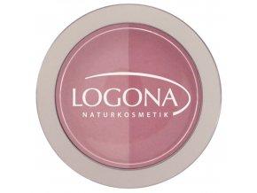Logona - Farba na líčka Pink + Rose
