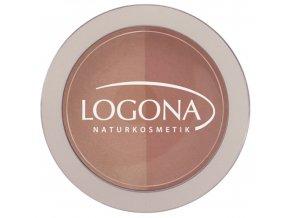 Logona - Farba na líčka Beige + Terracotta