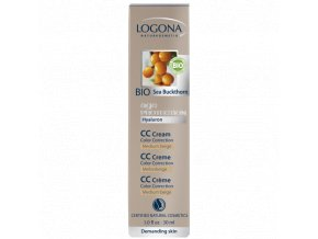 Logona - Anti Age Protection CC krém Medium Beige