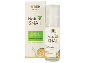 Victoria Beauty Natural Snail HYDRA - REST, Očný krém , 30ml