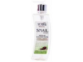 Victoria Beauty Snail Extract Micelárna voda s extraktom zo slimáka, 400ml