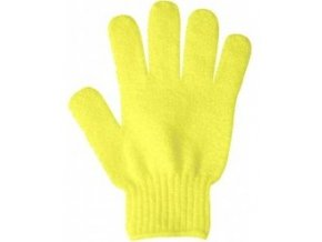 žlutá rukavica ok