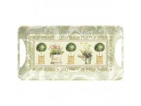 Creative Tops Melamínová servírovacia tácka Topiary, 38x20 cm
