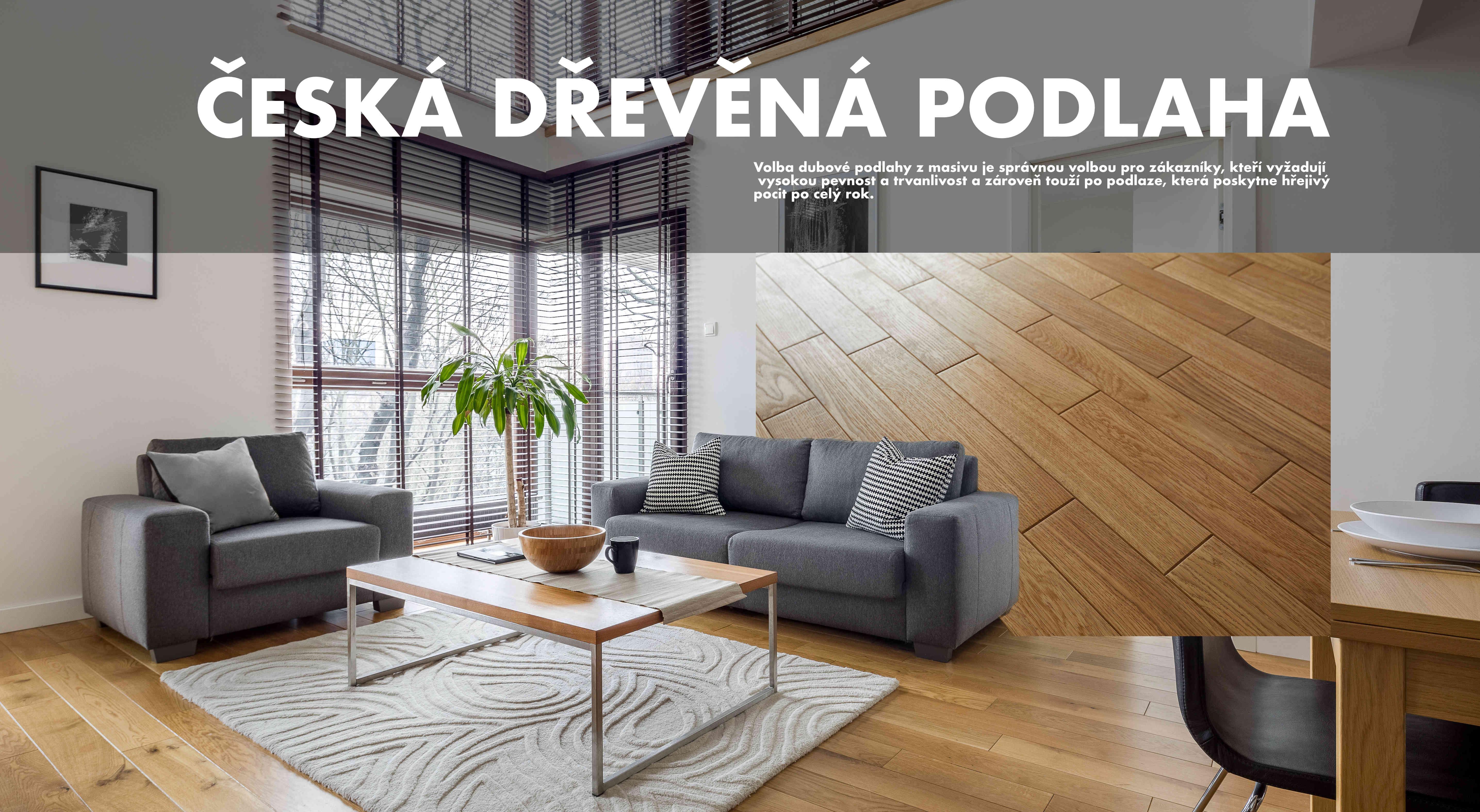 česká dřevěná podlaha