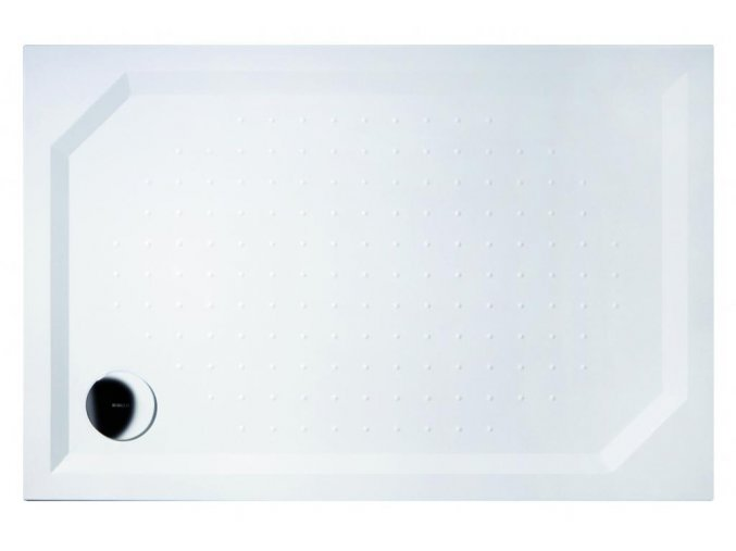 GELCO - SARA sprchová vanička z litého mramoru, obdélník 120x80x4cm, GS12080