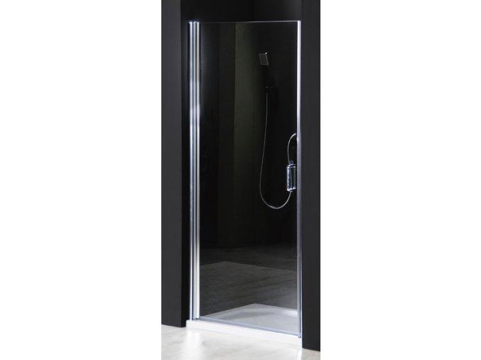 GELCO - ONE sprchové dveře do niky 900 mm, čiré sklo, GO4490D