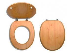 NOVASERVIS wc sedátko z dýhovaného dřeva WC/BOROVICE