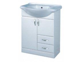 INTEDOOR skříňka na soklu s umyvadlem KLASIK, K 65