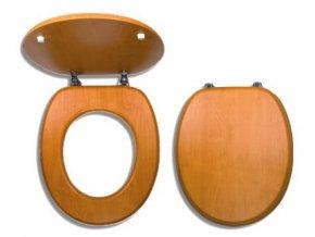 NOVASERVIS wc sedátko z dýhovaného dřeva WC/ORECH