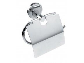 NOVASERVIS závěs toaletního papíru s krytem MEPHISTO 6838.0 chrom