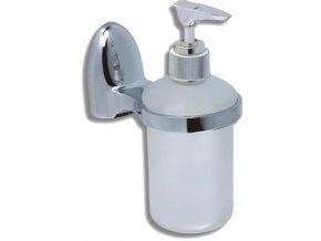 NOVASERVIS dávkovač mýdla sklo MERLIN 62755.0 chrom