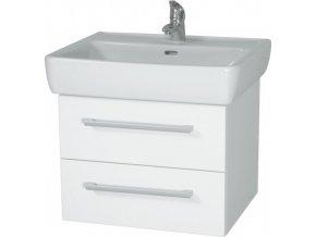 INTEDOOR NORDIC koupelnová skříňka závěsná s keramickým umyvadlem NR 55