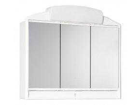 JOKEY RANO bílá zrc.skříňka 59x51x16 plastová, 2x40W, J541302-011