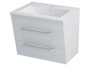 SAPHO KALI umyvadlová skříňka 59x50x45cm, bílá, 56062