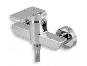 NOVASERVIS NOBLESS Kvadro sprchová nástěnná baterie chrom 35060/1,0
