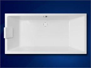 VAGNERPLAST akrylátová vana CAVALLO 180x80 cm, VPBA180CAV2X-01/NO