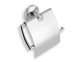 NOVASERVIS závěs toaletního papíru s krytem NOVATORRE 0138.0 chrom
