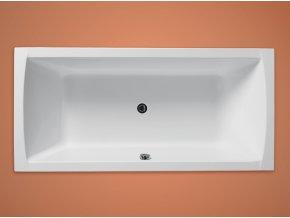 Santech obdelníková akrylátová vana NOVA 170x80 cm