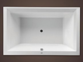 Santech obdelníková akrylátová vana LINEA XXL 190x120 cm
