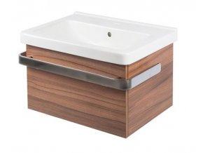 Koupelnová skříňka s umyvadlem LaVilla 55 dekor 37 s umyvadlem Cubito 8.1042.2. S-B551Z-37
