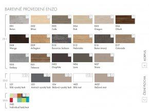 Dřevojas Koupelnová skříňka ENZO 120 S - Béžová vysoký lesk 52518