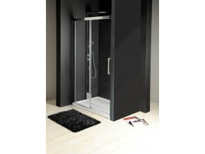 GELCO - FONDURA sprchové dveře 1100mm, čiré sklo, GF5011