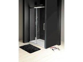 GELCO - FONDURA sprchové dveře 1200mm, čiré sklo, GF5012