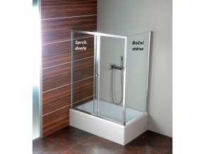 POLYSAN - DEEP sprchové dveře 1000x1500mm, čiré sklo MD1015