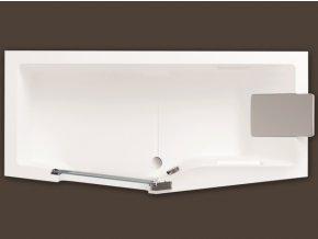 Santech obdelníková vana IRIS 160x80 cm s dvířky