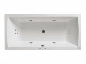 Santech hydromasážní vana NOVA  Body 200, 170 x 80 cm, automatický dohřev vody zdarma