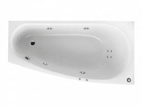 Santech hydromasážní vana Ariela  Body 200, 160 x 90 cm, automatický dohřev vody zdarma