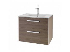 Dřevojas  Koupelnová skříňka TOO 80  Cafe/Ivory 84229