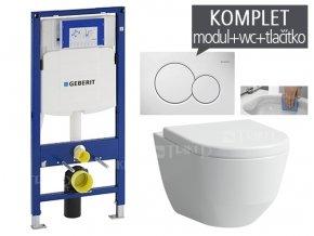 Zavesny wc komplet t 06 duofix laufen pro rimless klozet zavesny 050 v